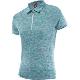 Löffler Rainbow Poloshirt Damen angel/rainbow
